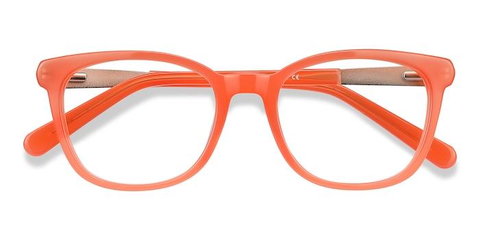 Orange Kat -  Colorful Acetate Eyeglasses