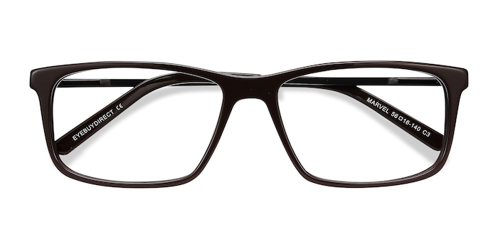 Brown Marvel -  Metal Eyeglasses