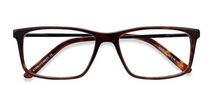 Tortoise Marvel -  Acetate Eyeglasses