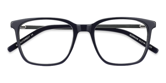 Navy Morrow -  Metal Eyeglasses