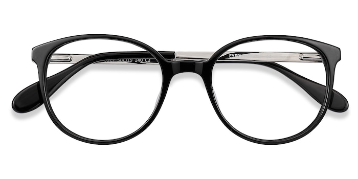 Black Lucy -  Metal Eyeglasses