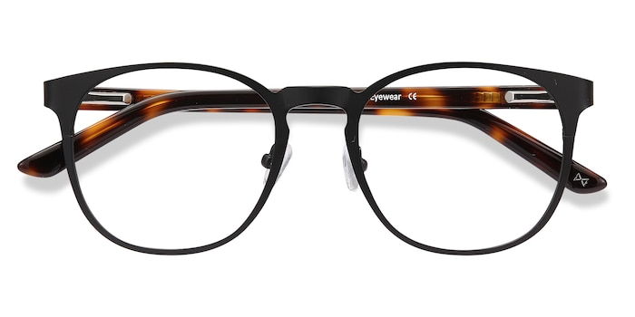 Black Resonance -  Designer Metal Eyeglasses
