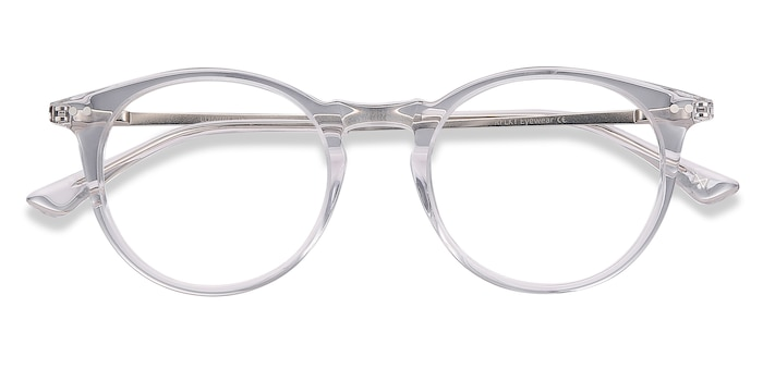 Clear Luminous -  Vintage Acetate Eyeglasses