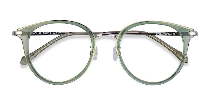 Green Hollie -  Colorful Plastic Eyeglasses