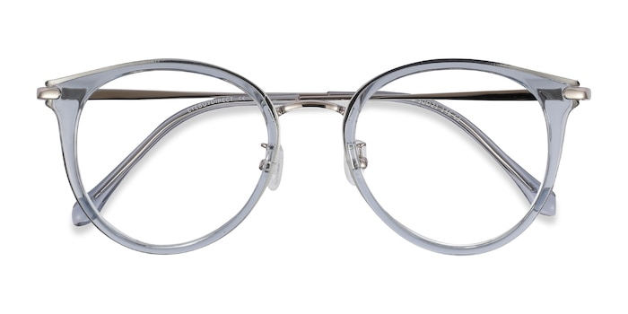 Blue Hollie -  Fashion Plastic, Metal Eyeglasses
