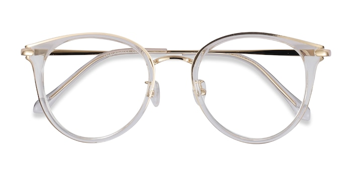 Transparent Hollie -  Tendance Plastic, Metal Lunette de Vue
