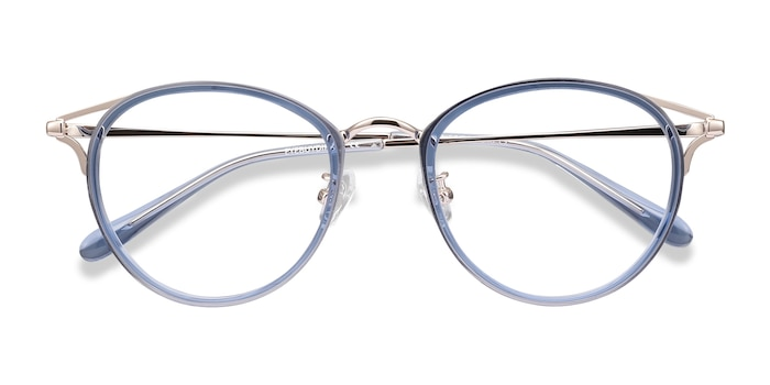 Blue Dazzle -  Metal Eyeglasses