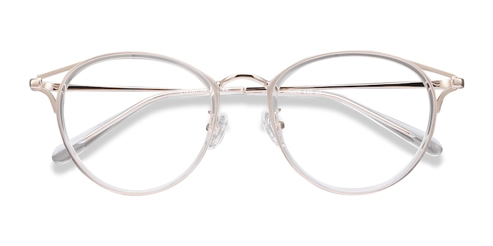 Clear Dazzle -  Metal Eyeglasses