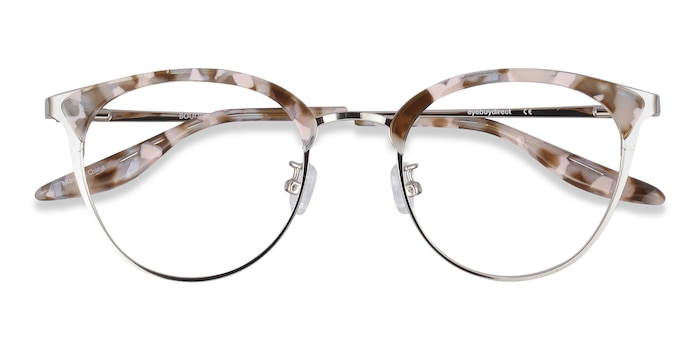 Floral Silver Bouquet -  Acetate Eyeglasses