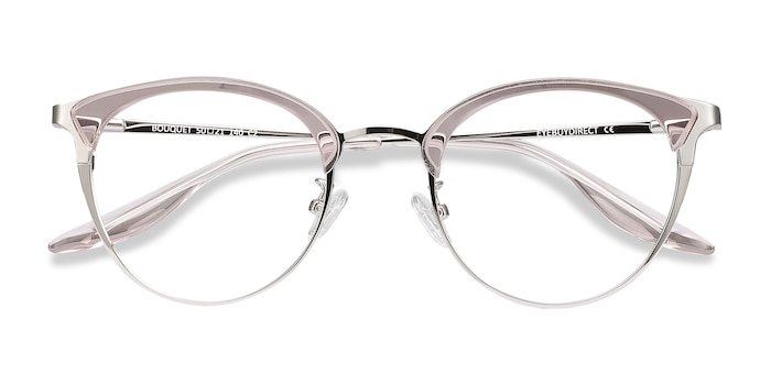 Pink Silver Bouquet -  Acetate Eyeglasses
