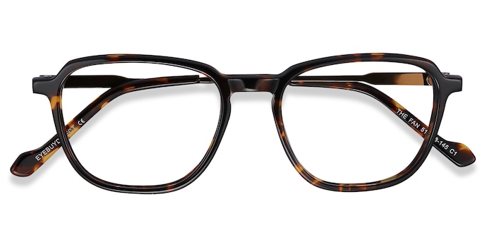 Tortoise The Fan -  Lightweight Acetate Eyeglasses