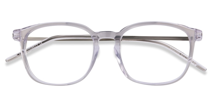 Clear Esquire -  Metal Eyeglasses