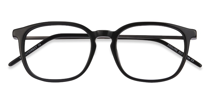 Black Esquire -  Metal Eyeglasses