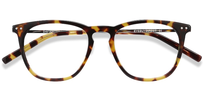 Tortoise Distance -  Metal Eyeglasses
