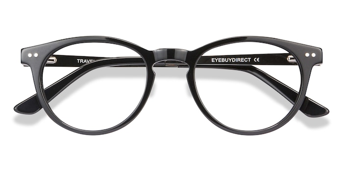 Black Traveller -  Acetate Eyeglasses