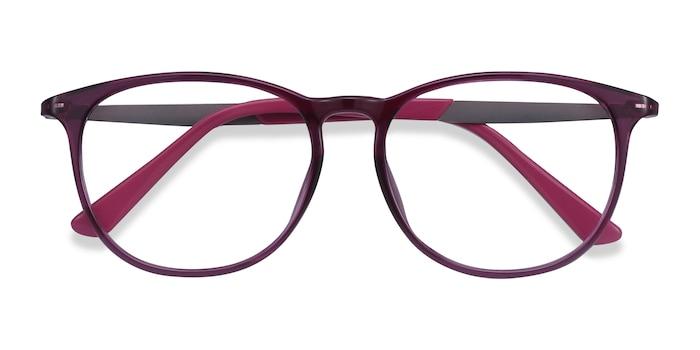 Purple Today -  Metal Eyeglasses