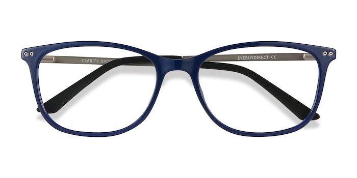 Blue Clarity -  Lightweight Metal Eyeglasses