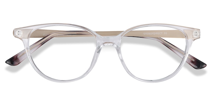 Clear Element -  Vintage Metal Eyeglasses
