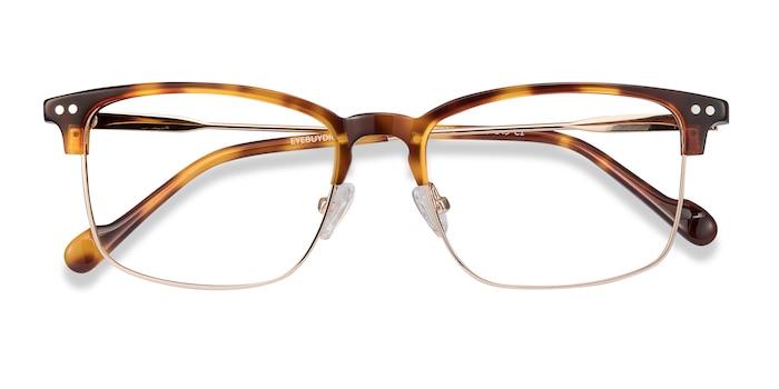 Tortoise Explorer -  Vintage Metal Eyeglasses