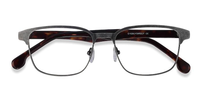 Gunmetal Meta -  Metal Eyeglasses
