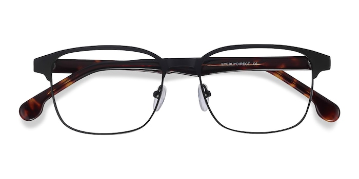 Black Meta -  Metal Eyeglasses