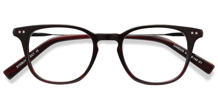 Red Candor -  Metal Eyeglasses