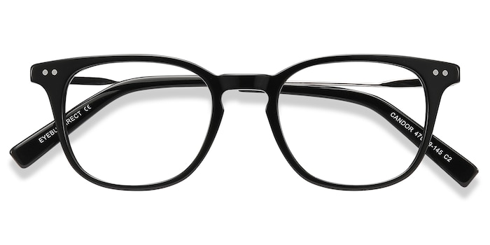 Black Candor -  Metal Eyeglasses