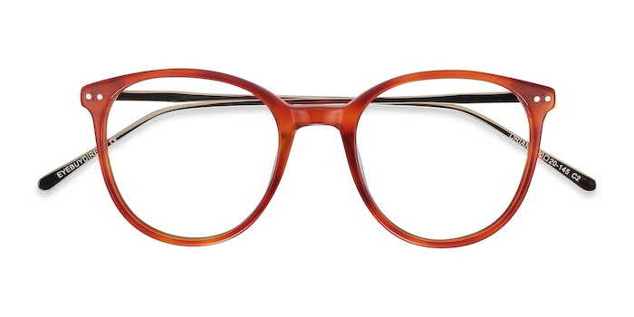 Orange Oriana -  Acetate Eyeglasses