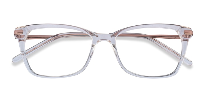 Clear Forward -  Classic Metal Eyeglasses