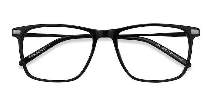 Black Envision -  Metal Eyeglasses