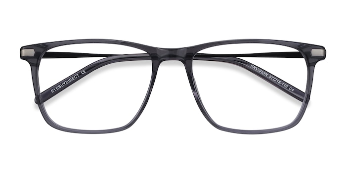 Gray Envision -  Metal Eyeglasses