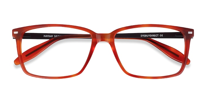 Blood Orange Hayday -  Colorful Acetate Eyeglasses