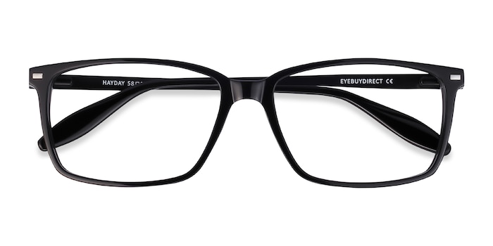 Black Hayday -  Lightweight Metal Eyeglasses