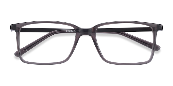Gray Haptic -  Metal Eyeglasses