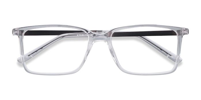 Clear Haptic -  Fashion Metal Eyeglasses
