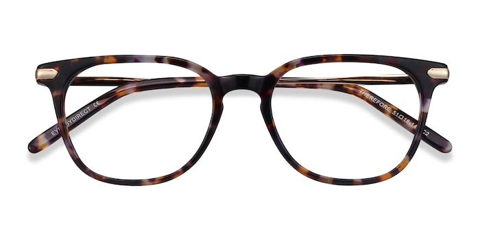 Floral Therefore -  Acetate, Metal Eyeglasses