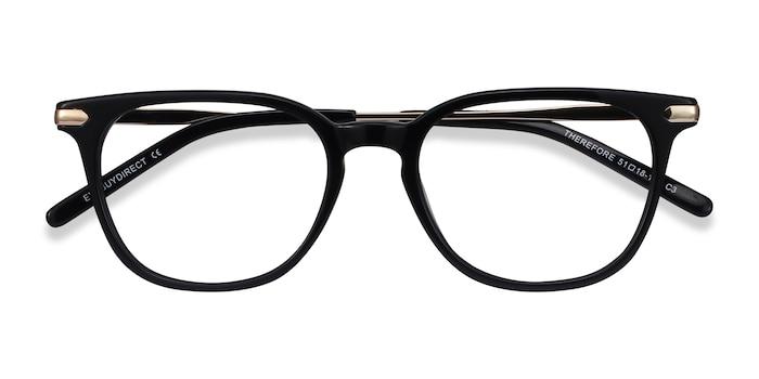 Black Therefore -  Metal Eyeglasses