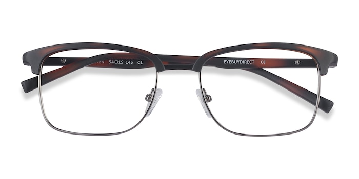 Tortoise Osten -  Lightweight Metal Eyeglasses