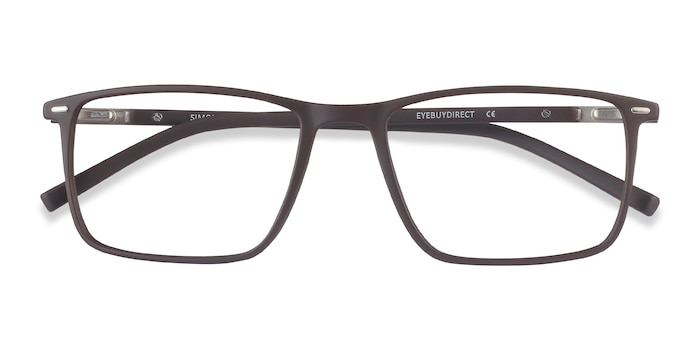 Coffee Simon -  Lightweight Metal Eyeglasses