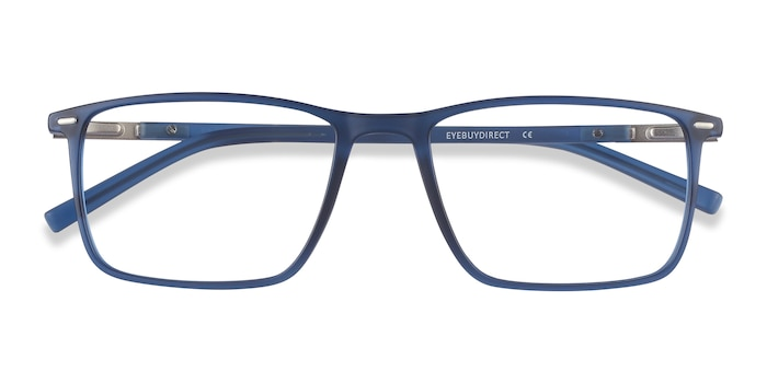 Blue Simon -  Lightweight Plastic, Metal Eyeglasses