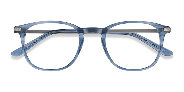 Blue Toulouse -  Colorful Acetate Eyeglasses