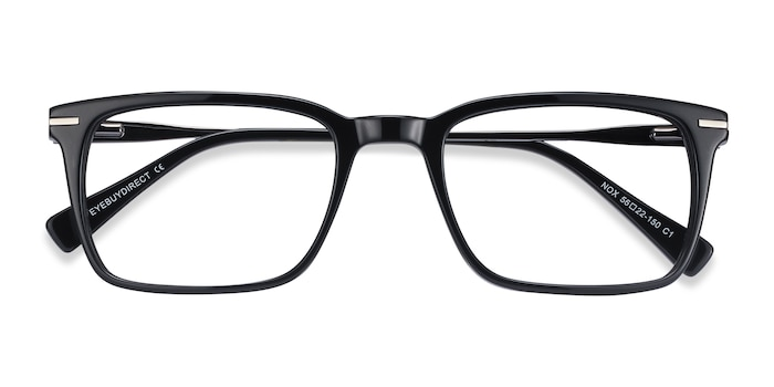 Black Nox -  Metal Eyeglasses