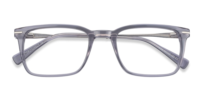 Gray Nox -  Acetate, Metal Eyeglasses