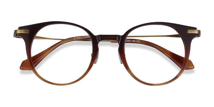 Brown Lazzi -  Acetate Eyeglasses