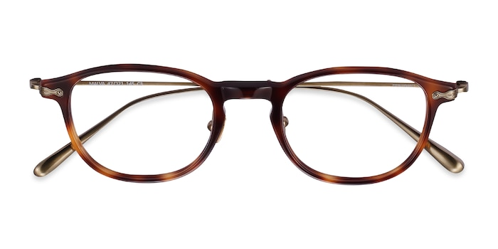 Brown Tortoise Malva -  Acetate Eyeglasses