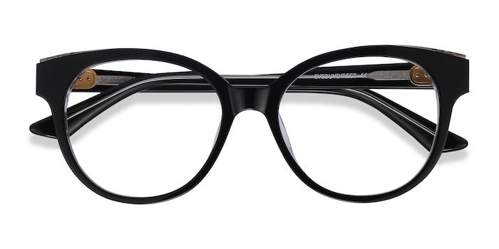 Black Vee -  Metal Eyeglasses
