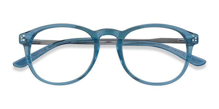 Blue Akio -  Colorful Acetate Eyeglasses
