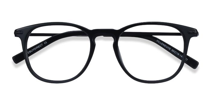 Black Villeneuve -  Metal Eyeglasses