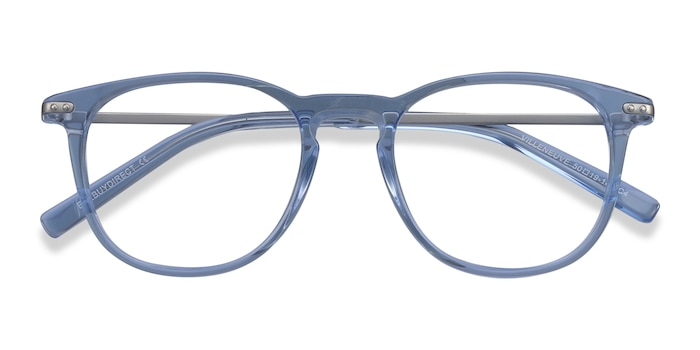 Blue Villeneuve -  Colorful Metal Eyeglasses