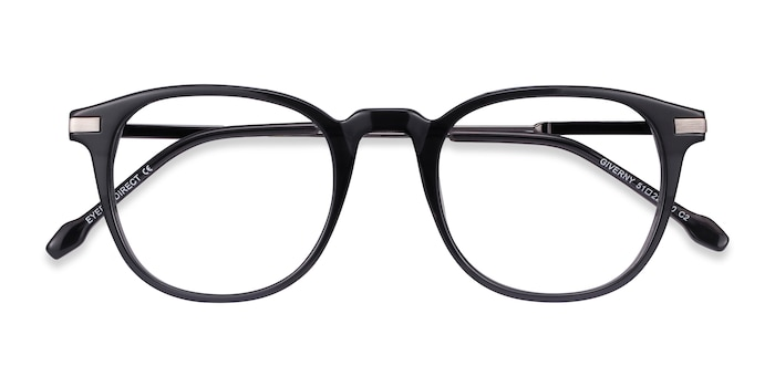 Gray Giverny -  Metal Eyeglasses